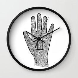 Gemini Hand / Hamsa Wall Clock