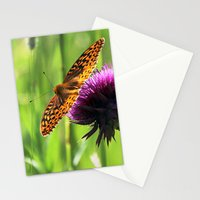 Great Spangled Fritillary Stationery Cards