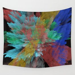 Abstract 123 Wall Tapestry