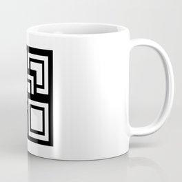 Square Pattern Coffee Mug