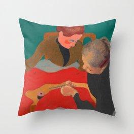 Edouard Vuillard - Les Couturieres, 1890 Throw Pillow