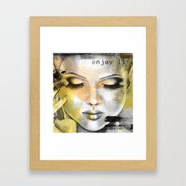 Little secret II Framed Art Print