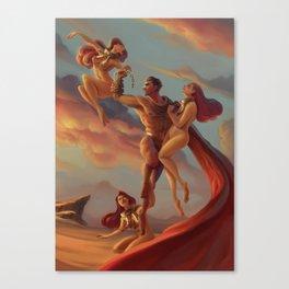 The Cerberus Unchain Canvas Print