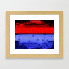 Blowing Hot & Cold Framed Art Print