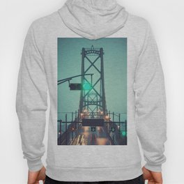 Green Light Bridge Hoody