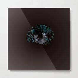 Pearl of Blue Shells Metal Print