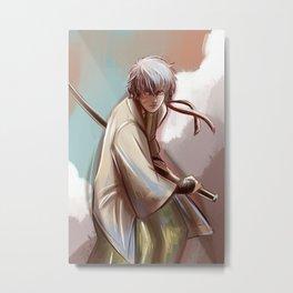 Gintoki Metal Print