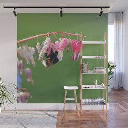 Worker of spring Wall Mural