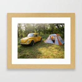 Outdoorsy Bug Framed Art Print