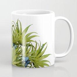 """El Bosco fantasy, tropical island blue butterflies 02"" Coffee Mug"