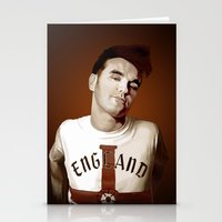smiths Stationery Cards featuring The Smiths singer by Studio Caro △