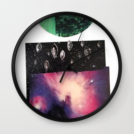 We Are the Universe Looking Back at Itself Wall Clock