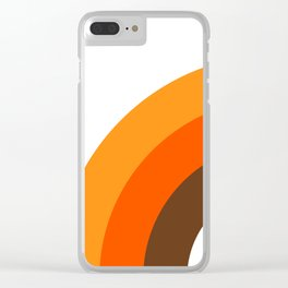 Harvest Rainbow - Left Side Clear iPhone Case