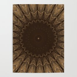 Sequential Baseline Mandala 16 Poster