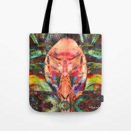 Tiger Ritual Mask Tote Bag