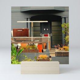 Garden WIP - Shabby Chic Mini Art Print