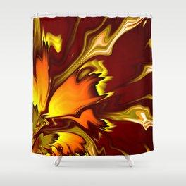 Furnace Shower Curtain