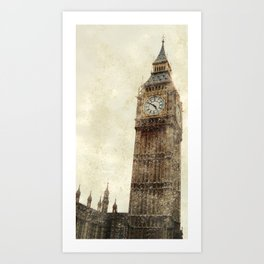 London Flea Market Art Print