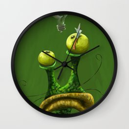 Powerful Idea Wall Clock