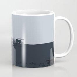 Iceland Airplane Crash Site - Digital Art Coffee Mug