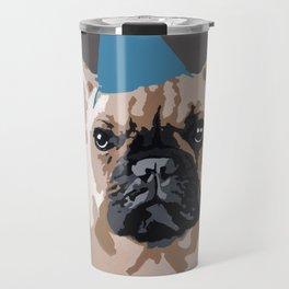 Milo on dark grey Travel Mug