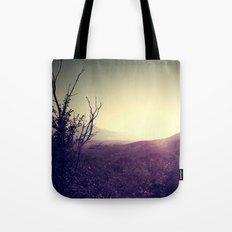 Landscape Sunset Tote Bag