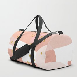 Conglomeration in Pink Duffle Bag