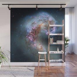 Interacting galaxies Wall Mural