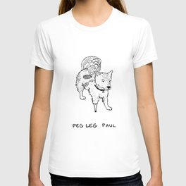 Peg leg Paul T-shirt