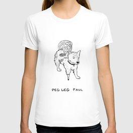 Peg leg Paul T-shirt
