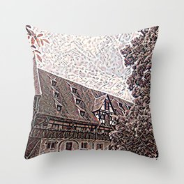 Pfalz Bamberg Throw Pillow