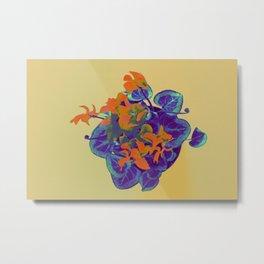Cyclamen Heart Metal Print