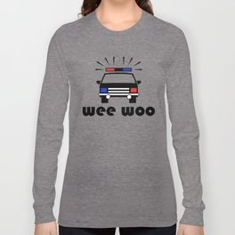 Police Car Wee Woo Long Sleeve T-shirt