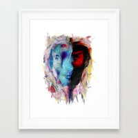 persona Framed Art Prints featuring Persona by DesArte