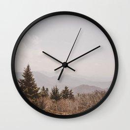 Mountain Pine Wall Clock
