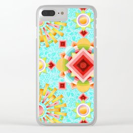 Provence Glow Clear iPhone Case