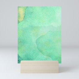 Abstract Jade Waters  Mini Art Print
