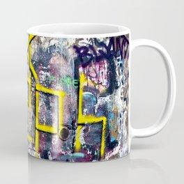 Sicilian Facade with Graffiti Coffee Mug
