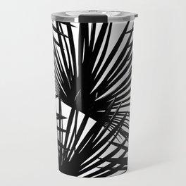 Tropical Fan Palm Leaves #2 #tropical #decor #art #society6 Travel Mug