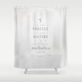 Stop Wait Sit - Shepherd Shower Curtain