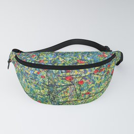 "Gustav Klimt ""Apple tree"" Fanny Pack"