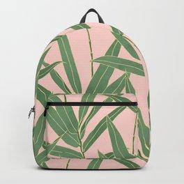 Elegant bamboo foliage design Backpack