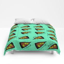 Bad Pizza Comforters
