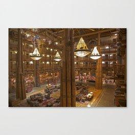 The Lodge Canvas Print