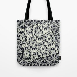 Black and White Fusions Tote Bag