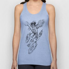 Major Arcana VII The Chariot Unisex Tank Top