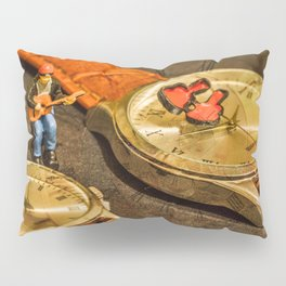 Playing For Time Pillow Sham
