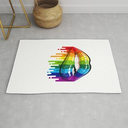Proud LGBT Dad Perfect Christmas Gift Rug