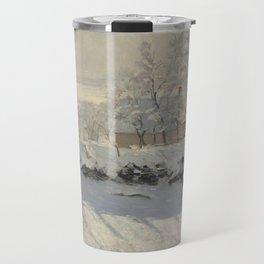 Claude Monet  -  The Magpie Travel Mug