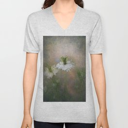 Love in the Mist Unisex V-Neck